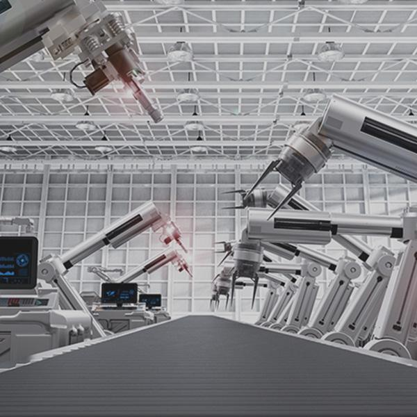 produkcja, maszyny, roboty